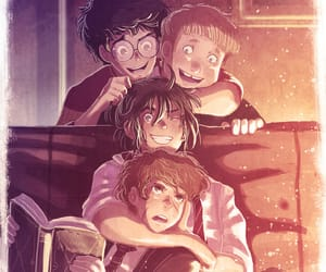 marauders, sirius black, and james potter image