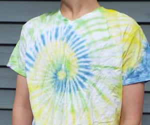 dad, hippie, and tie dye image