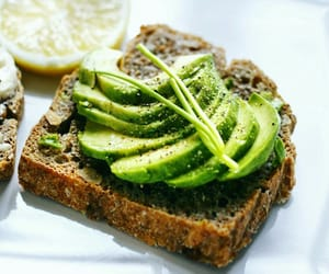 avocado, healthy, and food image