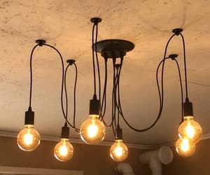 bulb, decor, and decorations image