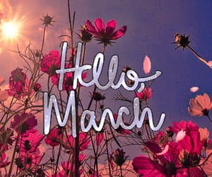 march, gif, and spring image