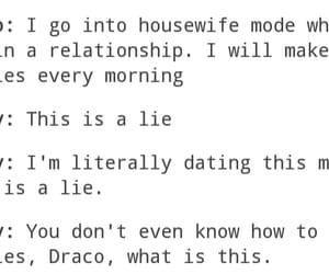 date, draco malfoy, and funny image