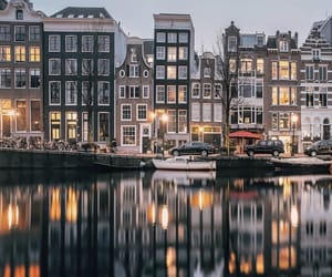 amsterdam, netherlands, and travel image