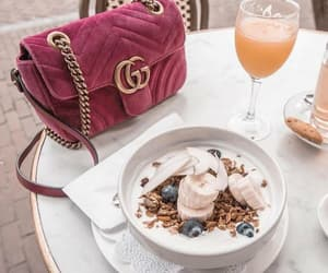 gucci, bag, and food image