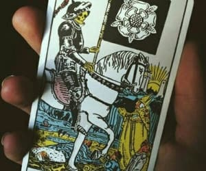 death, card, and tarot image