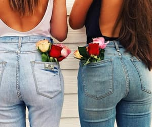 girls and jeans image