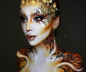 art, gold, and beautiful image