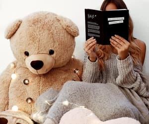 teddy bear and girl image