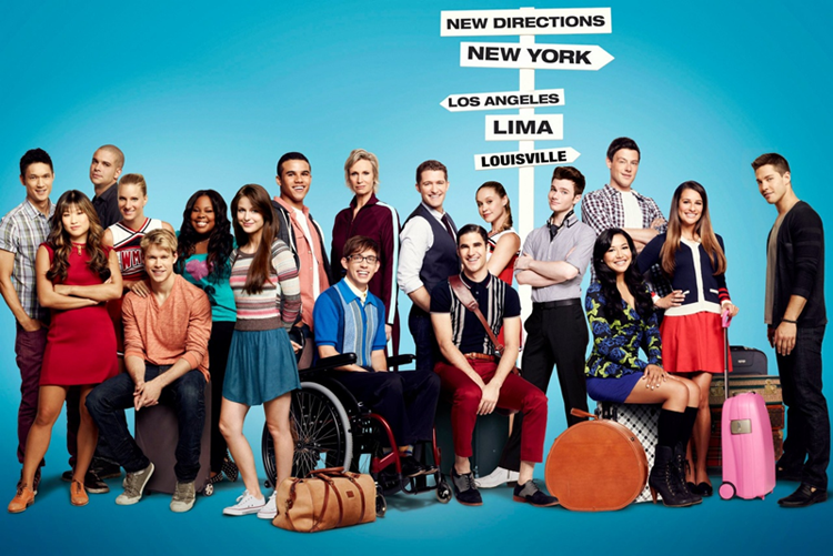 article, songs, and glee image