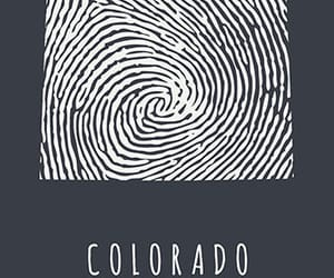 colorado, cool, and fingerprint image