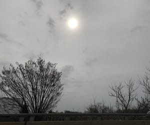 cloudy, driving, and glow image