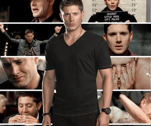 cry, dean winchester, and gif image