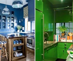 decor, kitchen, and kitchendecor image