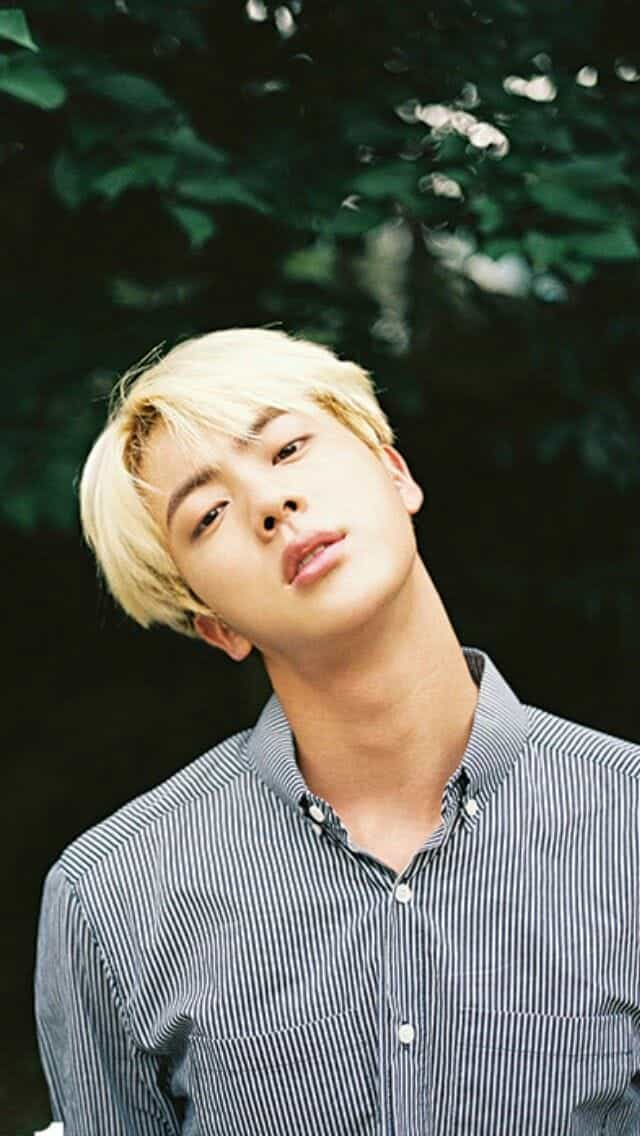 article, jin, and bts image