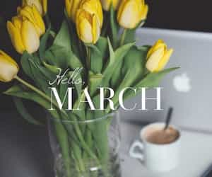 march and spring image