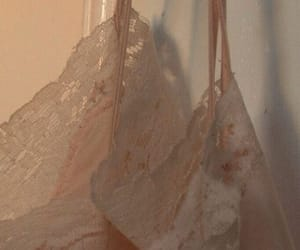 beige, lace, and tan image