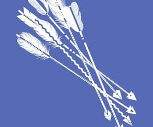 arrow, feather, and tattoo image