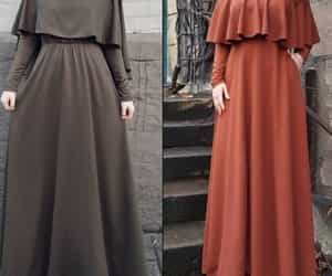 maxi dress hijab image