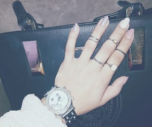 bags, naills, and style image