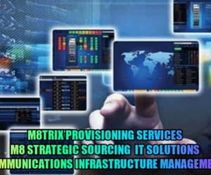 communications, infrastructure, and m8trix image