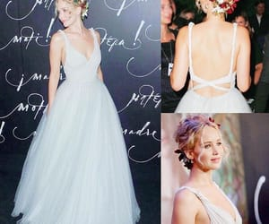 dress and Jennifer Lawrence image
