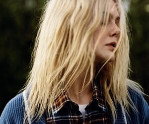 blue, girl, and mary elle fanning image
