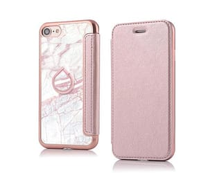 etsy, rose gold iphone, and pink marble iphone image