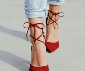 fashion, heels, and travel image