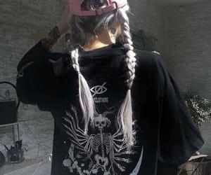 grunge and braids image