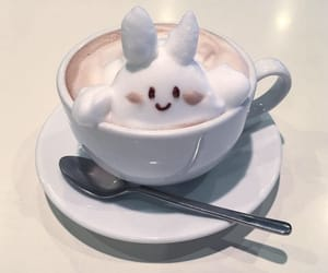 coffee and rabbit image