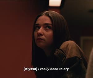 Alyssa, sad, and teotfw image