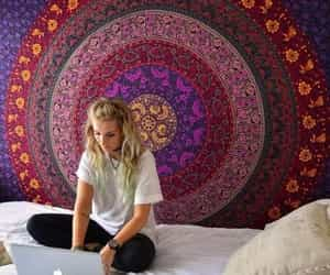 mandala, bedroom, and design image