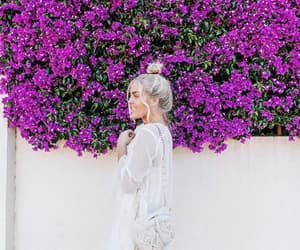 blonde, colors, and flowers image