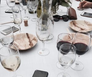 drink, elegant, and wine image
