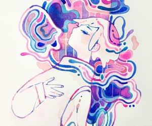 drawing, drawings, and watercolor image