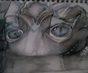 eyes, fanart, and guillermo del toro image