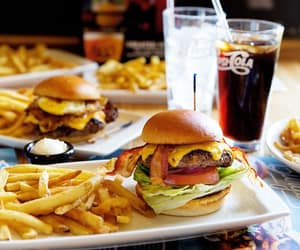 burgers, cheesy, and food image