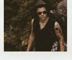 polaroid, Harry Styles, and one direction image