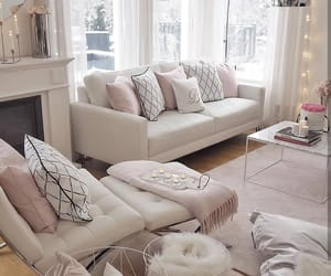 design, white, and cozy image