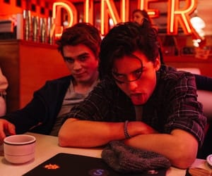 diner, cole sprouse, and archie andrews image