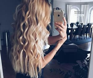 beautiful, hair, and blonde image