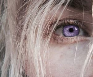 blonde, dragon, and eye image