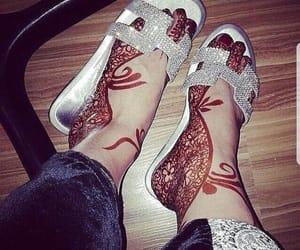 arab, arabic, and feet image