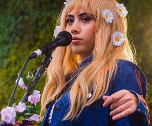 flowers and kali uchis image