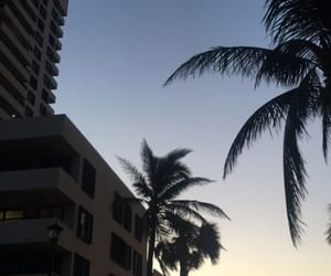 beach, nofilter, and Miami image