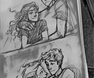 percabeth, percy jackson, and annabeth image