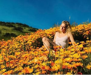 riverdale, lili reinhart, and flowers image