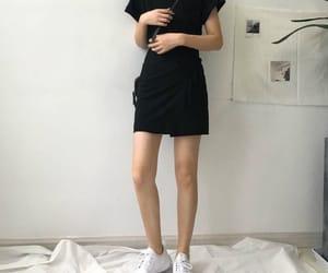 kfashion, fashion, and black image