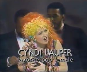 80s, Cyndi Lauper, and 80's image