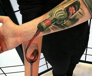 tattoo and drink image